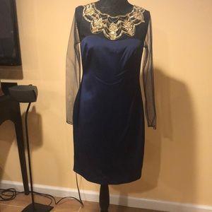 Midi blue dress brand new